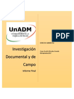 Investigación de Documental y de Campo