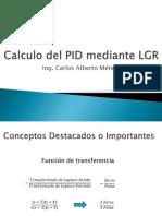 Calculo Del PID Mediante LGR
