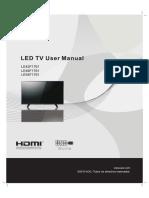 LE43F1761 User Manual Español
