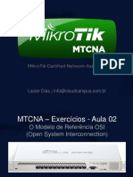 Aula 02 – Modelo OSI - Exercicios