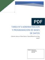 Tarea 3 Administracion y Programacion de Bases de Datos