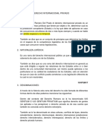 derecho internacional Privado Guatemalteco