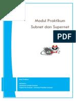 Modul 3 - Subnet-Supernet
