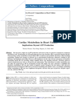 Cardiac Metabolism in Heart Failure