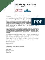 Release - i Festival Bnb Ação Hip Hop PDF