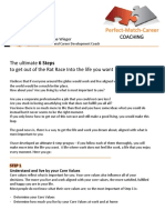 the ultimate 6 steps out of the rate race- perfect match career coach