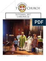 Christ Episcopal Church Eureka September Chronicle 2017