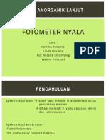 FOTOMETER NYALA
