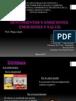 Sentimientos y Emociones. Emociones y Salud Grupo 4
