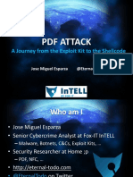 Asia 14 Esparza PDF Attack a Journey From the Exploit Kit to the Shellcode