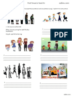 Used_to_ and Past Tense Worksheet