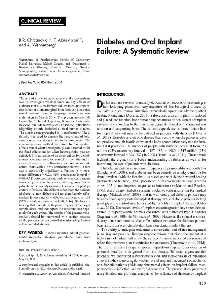 Folleto pdf de periodontitis y diabetes