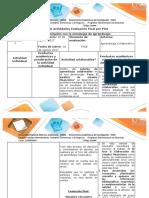 Guía de actividades y rúbrica de evaluación – Fase 5 – Análisis estados financieros