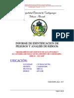Analisis de Riesgos del Proyecto Saneamiento Pasacancha