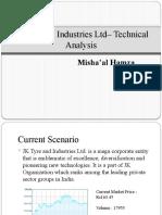JK Tyre & Industry - Technical Analysis