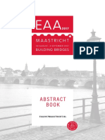 EAA2017 Abstract Book