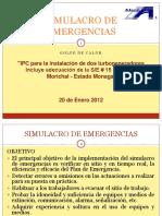 Simulacro de Emergencias Enero 2012