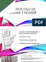Protocolo de Duran y Houser122
