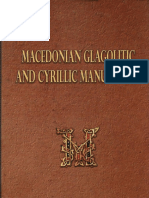 Macedonian Glagolitic and Cyrillic Manuscripts