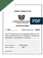 Materia s/ Soberanía (2/10/2015)