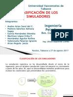 Clasificación de Los Simuladores-exponer