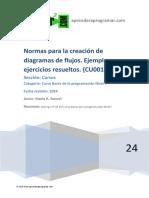 CU00139A Normas creacion diagramas flujo ejemplos ejercicios resueltos.pdf