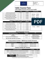 Public Fees 2