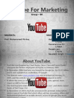 YouTube for Marketing Ppt