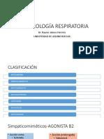Farmacología Respiratoria 2.0