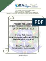 62.PP - Téc. Em Informática - Concomitante - 2015.1 - SGA e Mossoró