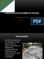 Conservación de Pavimentos Rígidos