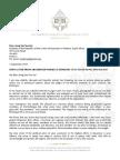 Desmond Tutu Letter