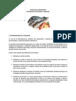 Tecnicas de Laboratorio Pescados y Mariscos