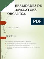 Discusindenomenclaturan1generalidadesdenomenclaturaorganica Presentacin 140525213000 Phpapp01