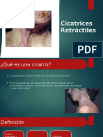 Cicatrices Retractiles
