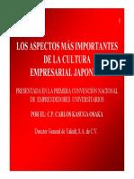 Los Aspectos Más Importantes de La Cultura Empresarial Japonesa