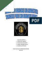 Teori Organisasi & Administrasi