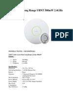 Unifi AP Long Range Ubnt 500mw 2