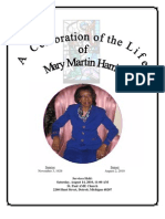 A Celebration of the Life of Mary Martin Harris
