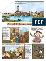 historia de Santa Rosa de Lima en comic