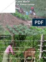 2010 presentation by Eugenio 'Ego' Lemos on Agriculture and Rural Livelihoods