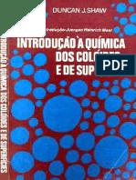[Duncan Shaw] Introducao a Quimica de Coloides e Superficie. (Portugues) Editora Edgard Blucher (1975)