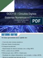 Capítulo 2 - Sistemas de Numeração e Códigos - Circuitos Digitais