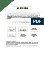 La Energia Potencial