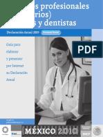 Guia Medicos Dentistas