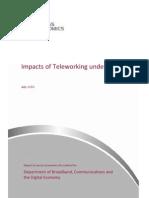 Telework - Access Economics Final Report