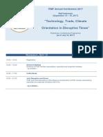 ITMF Programme