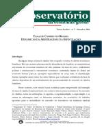 Rossi Taxa de Câmbio Arbitragem e Especulação