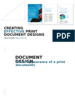 Effective Document Design