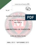 Guia de practicas de fundicion EPN
